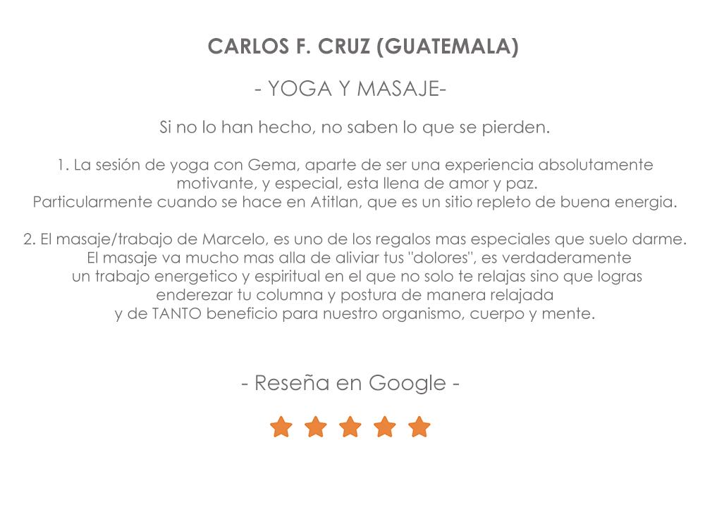 Retiro de Yoga y Masajes. oferta Madrid